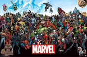 Marvel(TM) The Lineup Poster 60cm x 90cm -