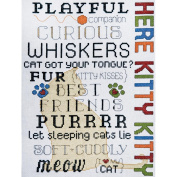 Here Kitty Counted Cross Stitch Kit