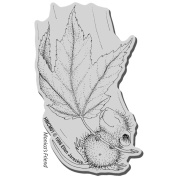Stampendous House Mouse Cling Rubber Stamp 8.9cm x 10cm Sheet-Fall Float