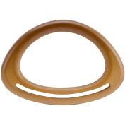 Wood Purse Handle 18cm x 13cm -Natural