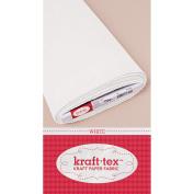 Kraft-Tex Kraft Paper Fabric, White, 48cm x 10yd