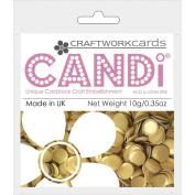 Candi Dot Colour Pop Embellishments .1040ml-Gold Bar