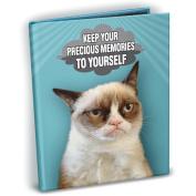 Grumpy Cat Mini Photo Album, 10cm x 15cm , Holds 24 Photos-Memories