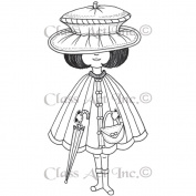 Class Act Cling Mounted Rubber Stamp 8.3cm x 14cm -Mindy