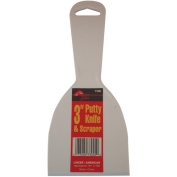 Plastic Putty Knives 7.6cm -White