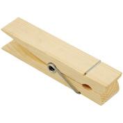 Wood Jumbo Clothespin-Natural 13cm - 2.2cm 1/Pkg