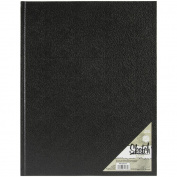 Pro Art Hard Bound Sketch Book 28cm x 36cm -Black