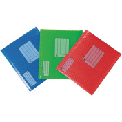 Scotch Smart Mailer 22cm x 28cm -Assorted Red, Green and Blue