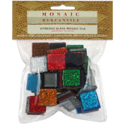 Vitreous Glass Mosaic Tile, 0.2kg, Assorted
