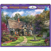 White Mountain Puzzles Hideaway Cottage 550 Piece Jigsaw Puzzle