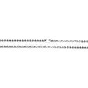 Jewellery Designer Slimpack Silver Metal Chain-60cm Ball Chain