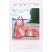 Aunties Two Patterns-Bailey Island Hobo Bag