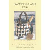 Aunties Two Patterns-Diamond Island Tote