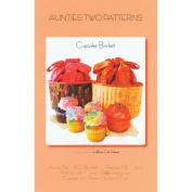 Aunties Two Patterns-Cupcake Basket