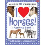 Walter Foster Creative Books-I Love Horses Activity Book