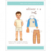 Oliver + S Patterns-Field Trip Cargo Pants + Raglan T