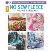 Leisure Arts No-Sew Fleece Throws & Pillows