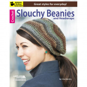 Leisure Arts-Crochet Slouchy Beanies & Headwraps