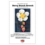 La Todera Patterns-Berry Bunch Brooch
