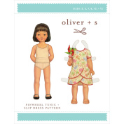Oliver + S Patterns-Pinwheel Tunic + Slip Dress
