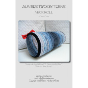 Aunties Two Patterns-Neckroll