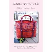 Aunties Two Patterns-Big Sebago Tote