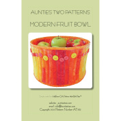 Aunties Two Patterns-Modern Fruit Bowl