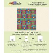 Fabric Editions Design Sheet/Project Card-Exotic Batik Quilt