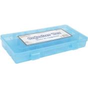 Bead Organiser Box 23cm x 11cm X1.950cm -18 Compartment W/Lid