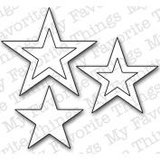 Die-Namics Die-Stacking Stars, .190cm To 4.4cm