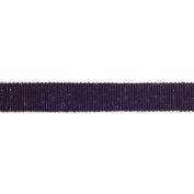 Ruban Scintilla Ribbon 1.6cm X3.28 Yards-Plum/Silver