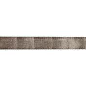 Ruban Chambray Ribbon 1.6cm X27 Yards-Brown