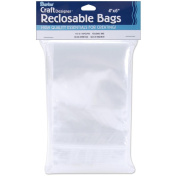 Reclosable Clear Storage Bags 100/Pkg-10cm x 15cm