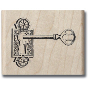 Mounted Rubber Stamp 3.8cm x 3.8cm -Romantique Key