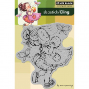 Penny Black Cling Rubber Stamp 10cm x 15cm Sheet-You Are A Peach