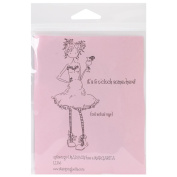 Stamping Bella Uptown Girl Madison & Her Margarita Cling Rubber Stamp, 17cm x 11cm
