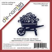Die-Namites Die-Floral Wheelbarrow, 7.6cm x 6.7cm