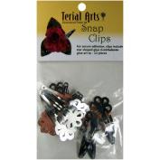 Terial Arts Snap Clips-12/Pkg