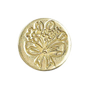 Decorative Seal Coin .190cm -Spring Flowers