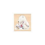 Penny Black Mounted Rubber Stamp 8.9cm x 8.9cm -Christmas Hug