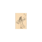 Penny Black Mounted Rubber Stamp 8.9cm x 13cm -Magic Of Christmas