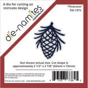Die-Namites Die-Pinecone, 6.4cm x 7.3cm