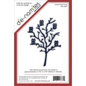 Die-Namites Die-Sweet Owl Tree, 8.7cm x 12cm