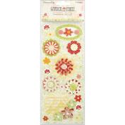 Garden Party 3D Stickers-Flowers