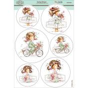 Wee Stamps Topper Sheet 21cm x 31cm -Spring Bringer