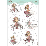 Wee Stamps Topper Sheet 21cm x 31cm -Sweet Blossom