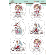 Wee Stamps Topper Sheet 21cm x 31cm -Let It Snow