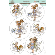 Wee Stamps Topper Sheet 21cm x 31cm -Bluebell Wood