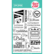 Avery Elle Clear Stamp Set 10cm x 15cm -Oh Baby