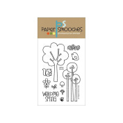Paper Smooches 10cm x 15cm Clear Stamps-Spring Groves